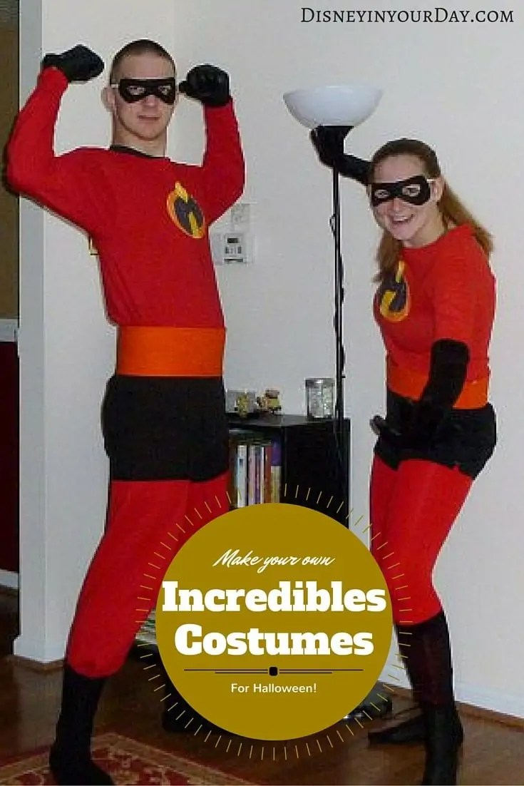 if youre looking for an easy and comfortable disney related halloween costume consider going as the incredibles not only is it pretty easy to put