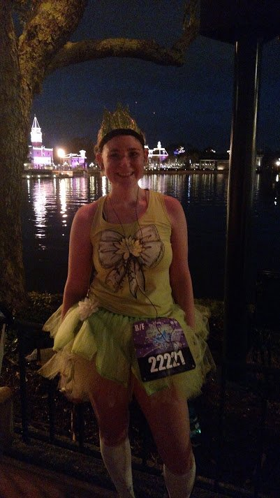 Tiana running costume - Disney in your Day