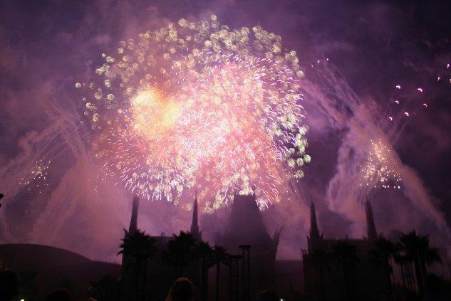 Star Wars fireworks dessert party - Disney in your Day