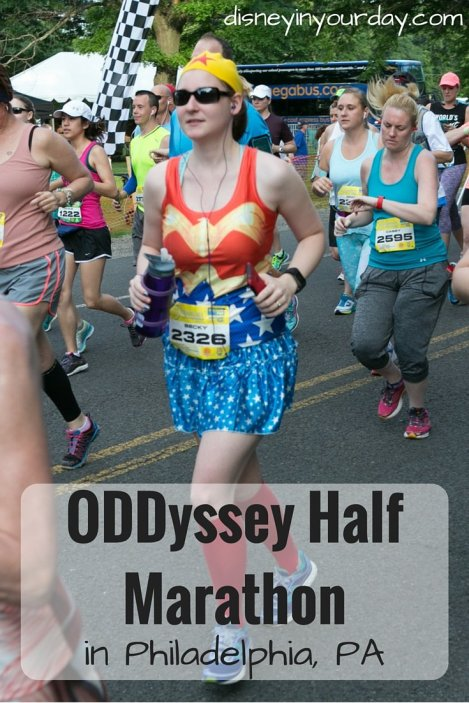 Oddyssey half marathon - Disney in your Day