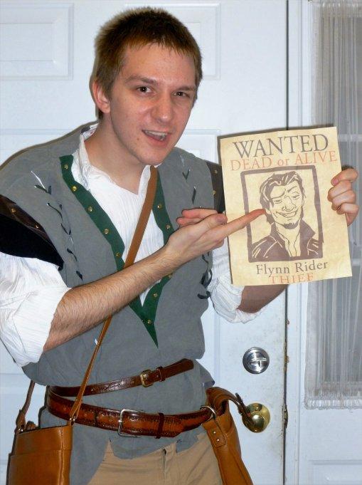 flynn rider rapunzel halloween costume disney in your day