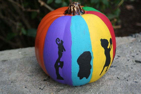 Inside Out pumpkin - Disney in your Day