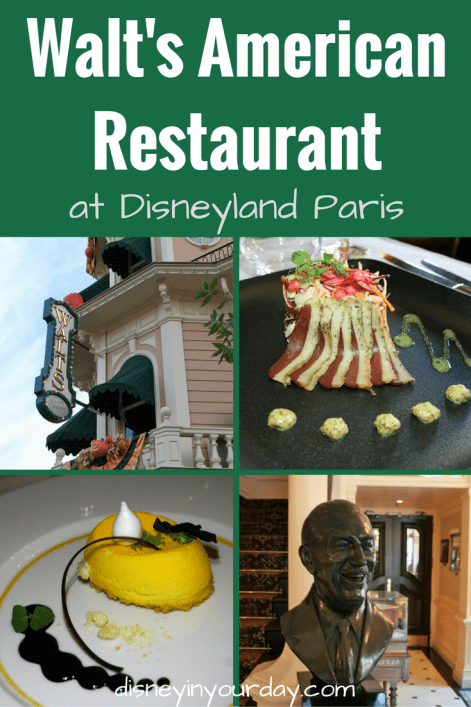 Walt's American Restaurant - Disney in your Day