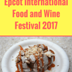 Epcot International Food and Wine Festival 2017