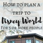 Traveling to Disney with 5 or more people