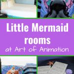 Art of Animation: Little Mermaid rooms