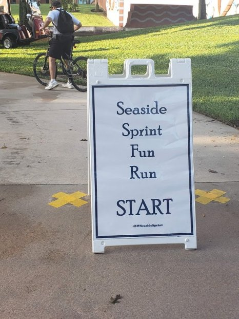 Seaside Sprint - Disney in your Day