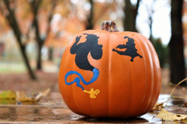 Aladdin pumpkin - Disney in your Day