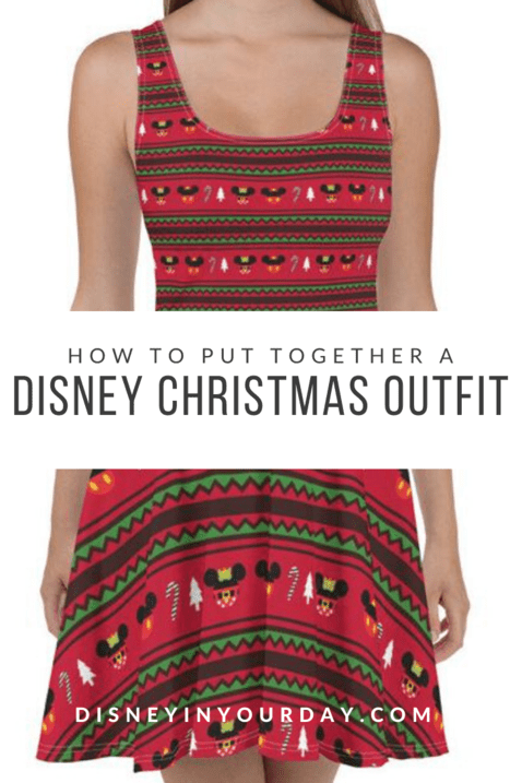 Disney Christmas outfit - Disney in your Day