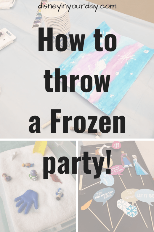 Frozen Party - Disney in your Day