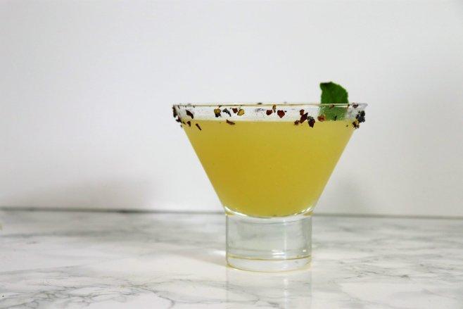 minty pineapple margarita recipe - Disney in your Day