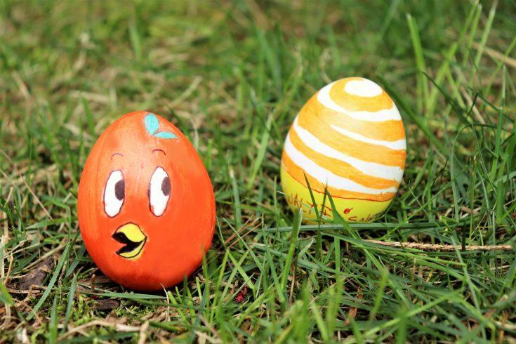 Disney's orange bird Easter egg DIY