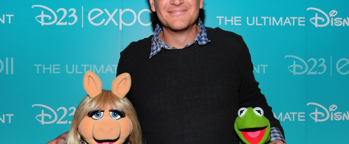 Jason Seigel, Ms Piggy y la Rana Rene (Kermit)