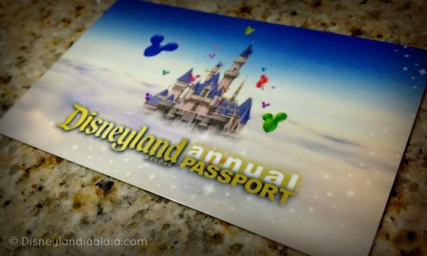Pase Anual de Disneylandia