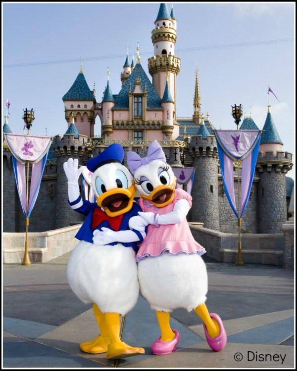 Pato Donald y Daisy