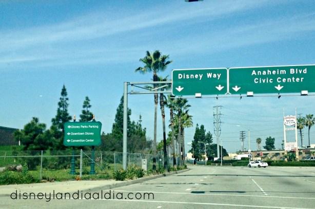 como llegar a Disneylandia