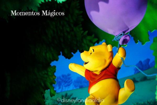 Winnie the Pooh en Disneylandia