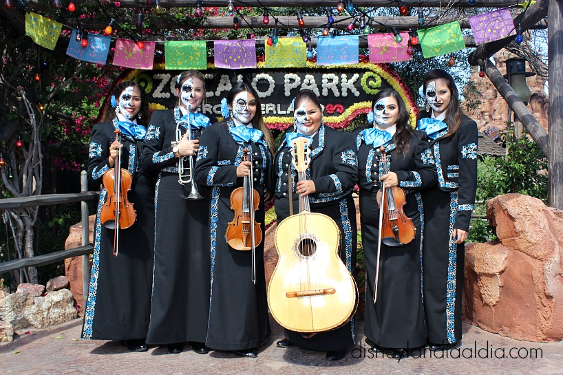 Mariachi Divas Disney California Adventure