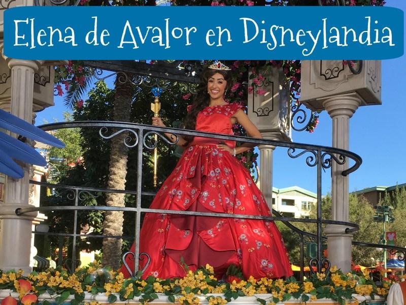 Visita a la Princesa Elena de Avalor en Disneylandia - Disneylandiaaldia.com