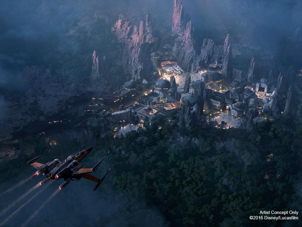 ¿Cuando abre el Mundo de Star Wars en Disneylandia?