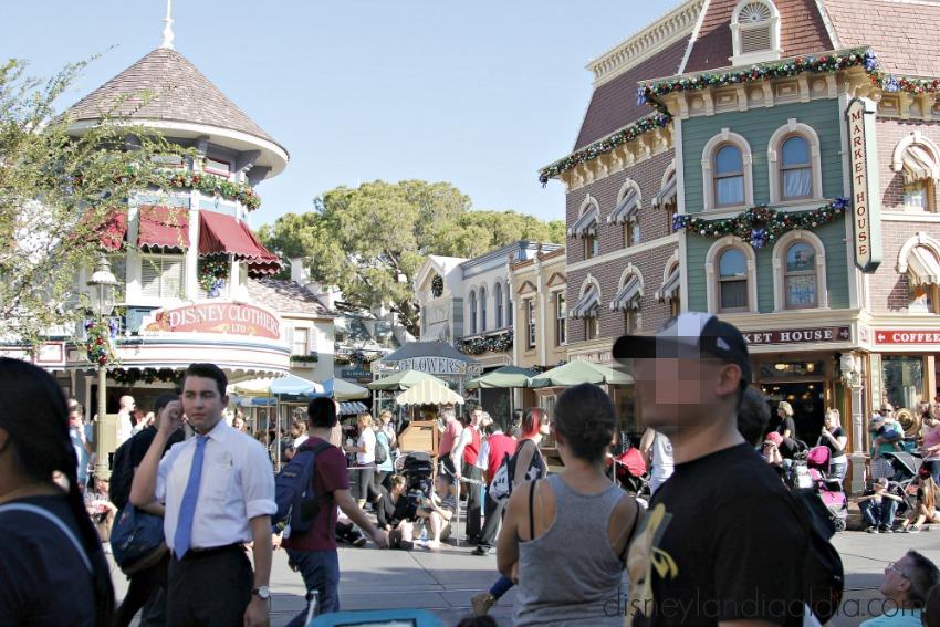 Desfiles en Main Street Disneylandia