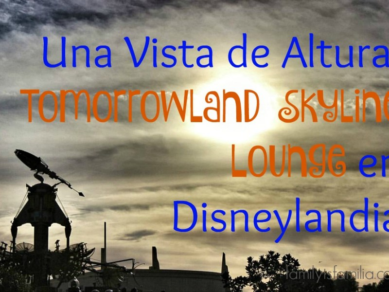 Tomorrowland en Disneylandia