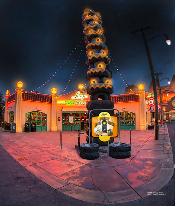 Nuevas Experiencias de Halloween en Disney California Adventure
