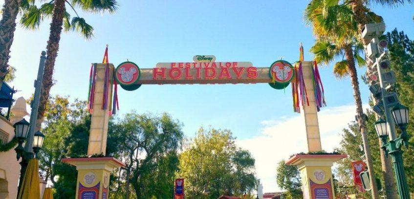Festival of Holidays en Disney California Adventure