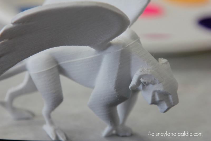 Modelo en 3D de Pepita, el guía espiritual en Coco - disneylandiaaldia.com