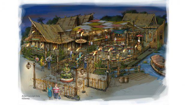 Escondite del Mundo de la Aventura en Disneylandia (Tropical Hideaway)