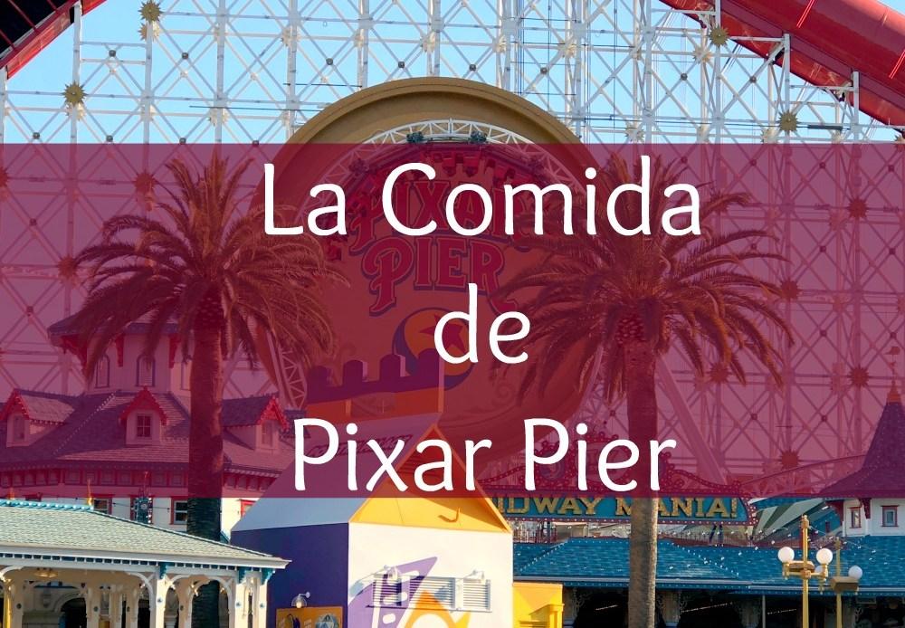La Comida de Pixar Pier