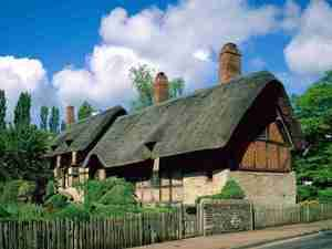 Anne Hathaway's cottage that inspired the cottage in UK Pavilion Image Credit: San Domenico School