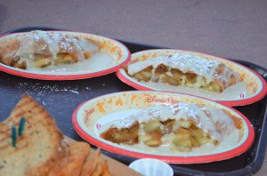 Apple Strudels with Vanilla Sauce - Germany Sommerfest