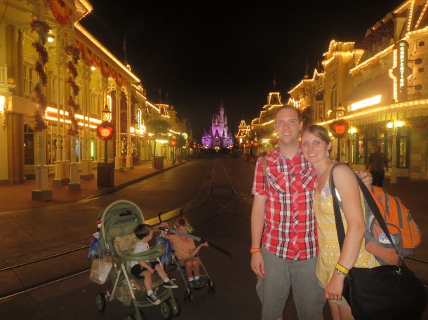 After Hours at the Magic Kingdom, as some of the last to leave