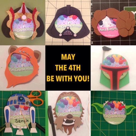 Star Wars Pin-Heads