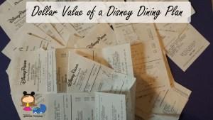 Dining Plan Value