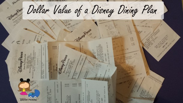 Dining Plan Value