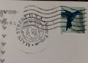 Main Street USA stamp from City Hall