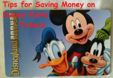 Discount Disney Parks Tickets - tips for saving money