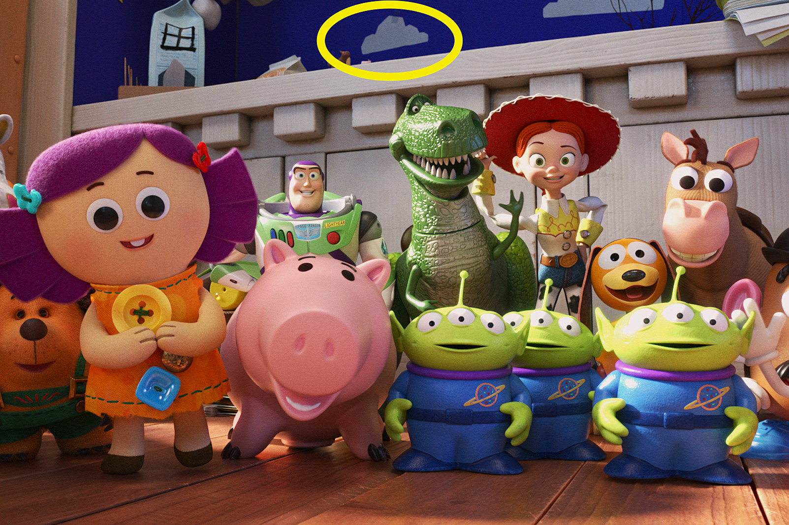 toy story 4 easter eggs et references