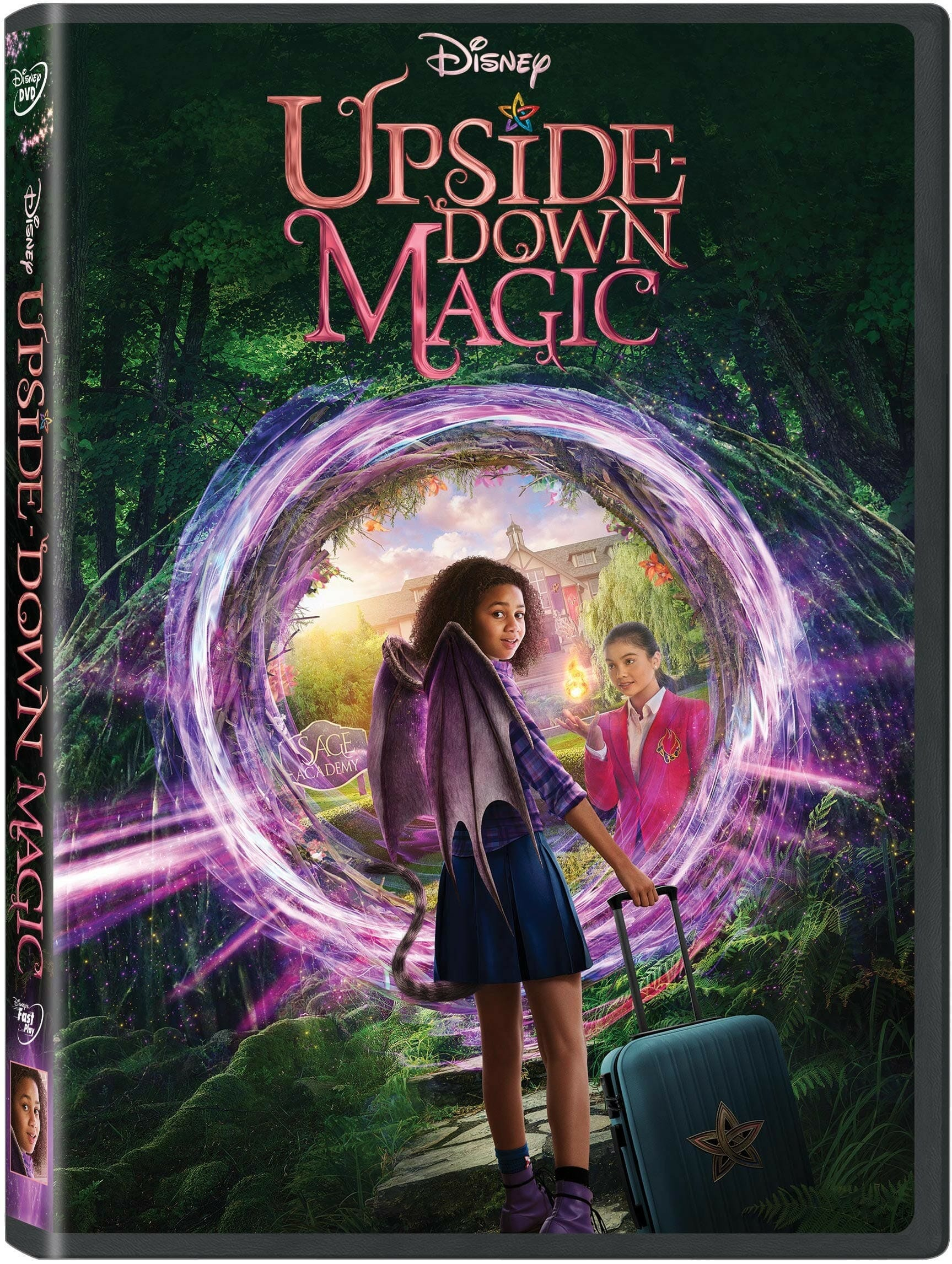 Disney S Upside Down Magic Now Available On Dvd Disney Plus Informer