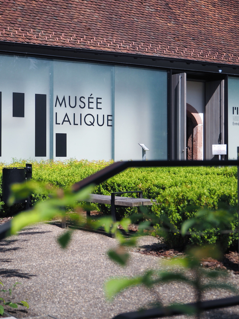 Lalique Museum designed by Jean-Michel Wilmotte