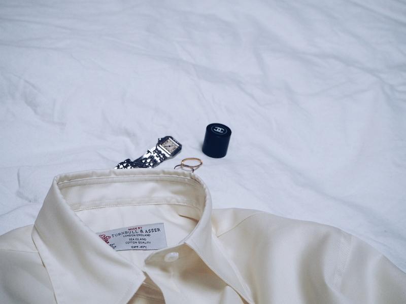 Turnbull and Asser bespoke shirt for women