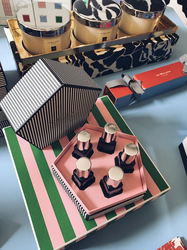 Jo Malone Christmas 2017 - gift set of mini Cologne Intense selection £94