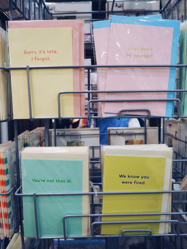 Mean Mail greeting cards