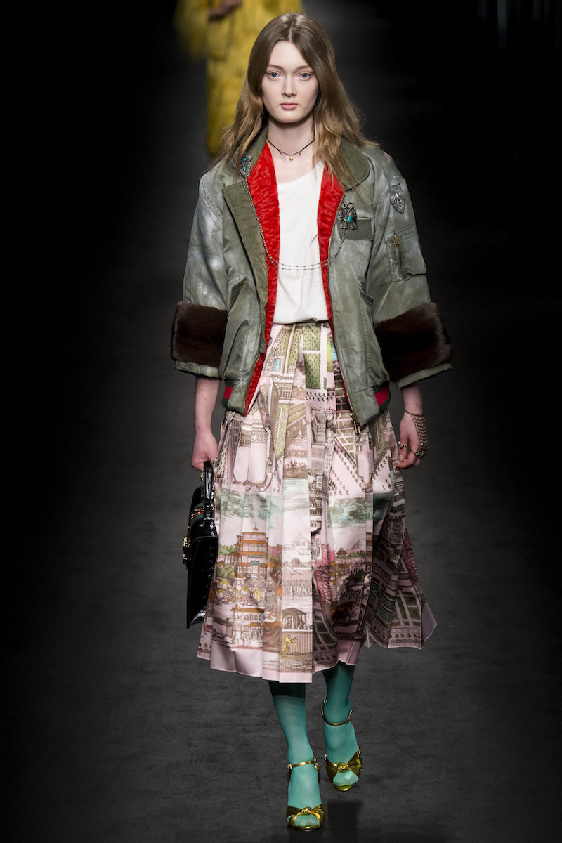 Gucci aw16 paded MA1 jackets and duvet coats