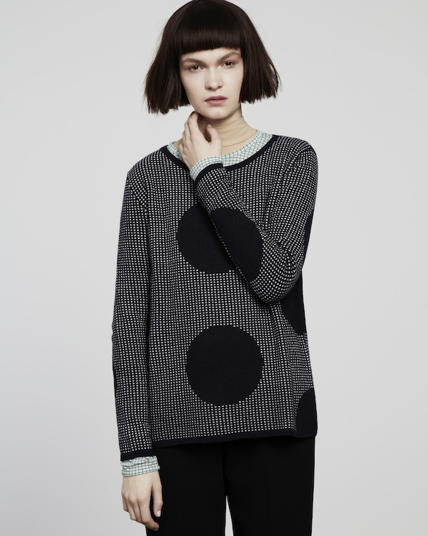 2 Aran giant polka dot sweater - Chinti and Parker meets Patternity - £420
