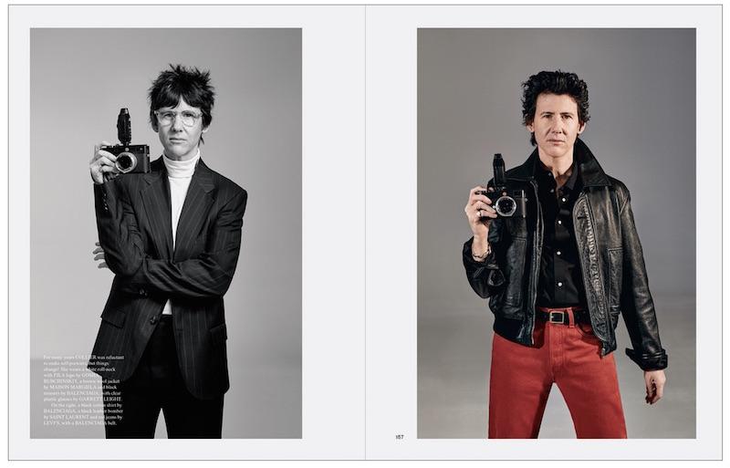Collier Schorr self portrait Fantastic Man - red Levi's jeans