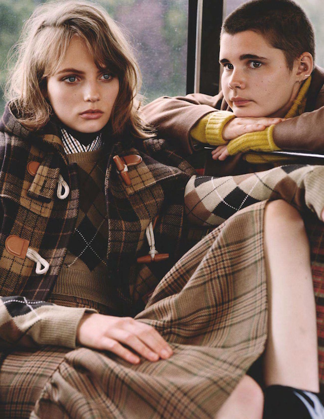 Fran Summers for UK Vogue by Alasdair McLellan