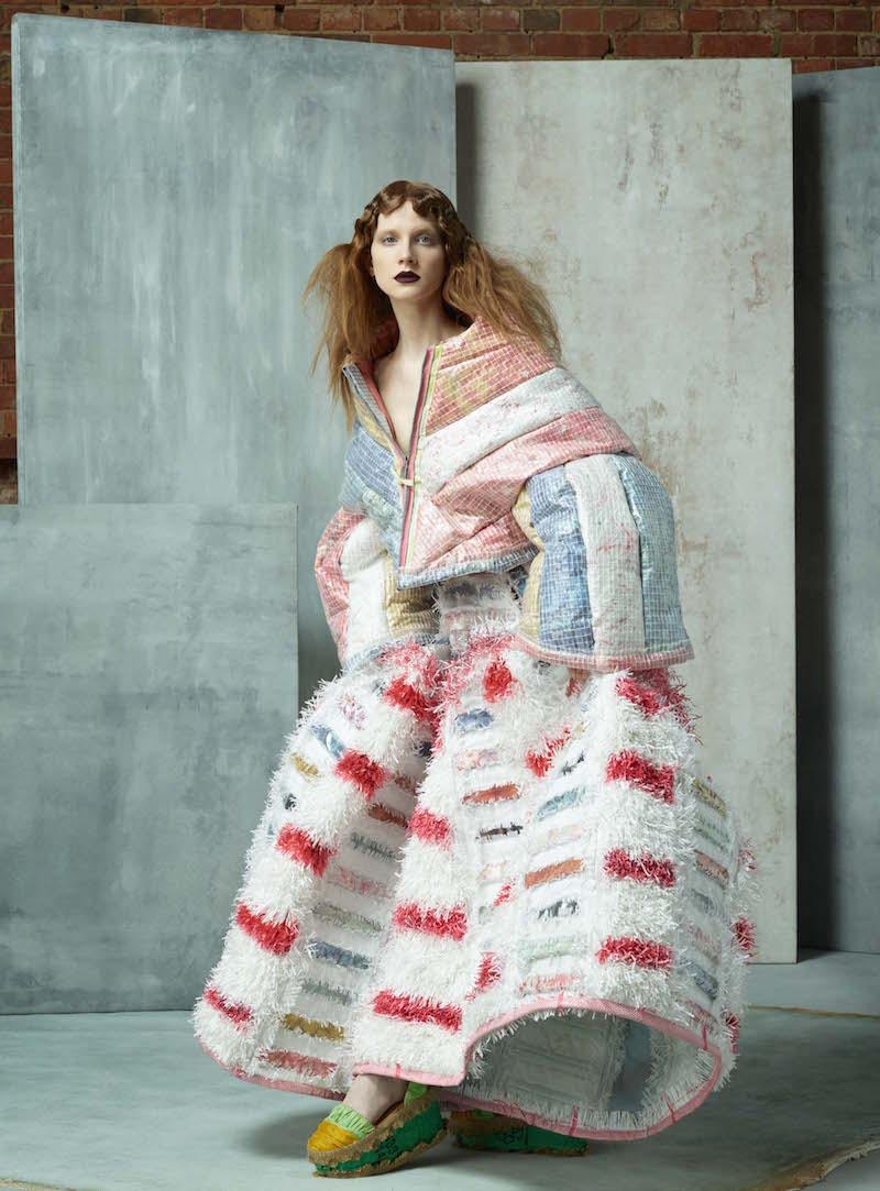 Maddie Williams fashion design graduate from Edinburgh College of Art